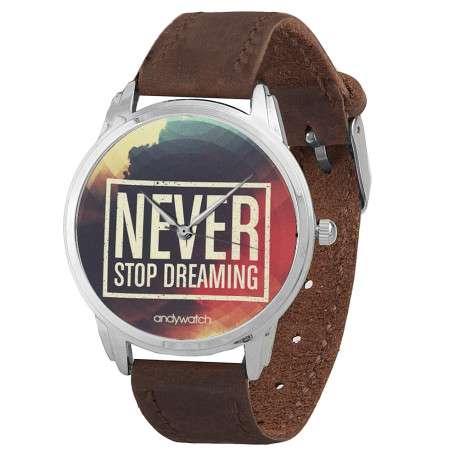 AW 042 Never stop dreaming коричн