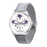 AW 573-8 Фиолетовые цветы
