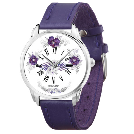 AW 573 Фиолетовые цветы1