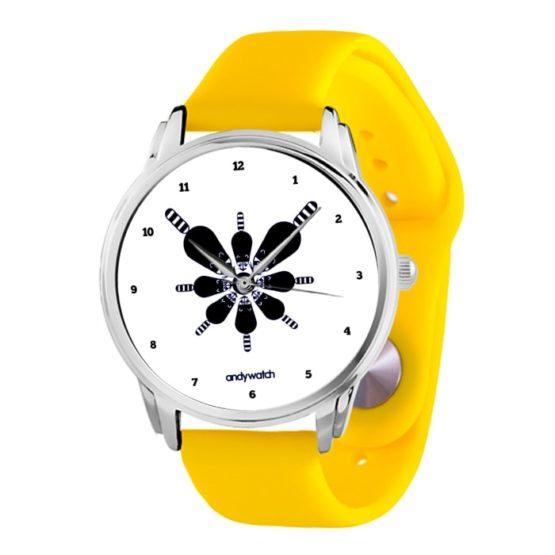 Наручные часы AW 590_Желтый-силиконовый-ремешок
